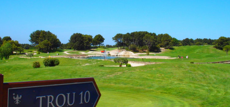 Golf de Saumane – In the heart of Provence and the Shadow of the Sade Family Chateau